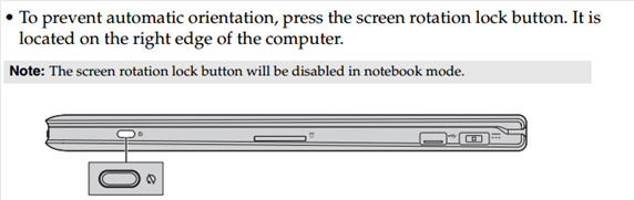 Screen auto rotates or keyboard mouse being disabled automatically